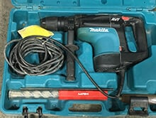 rotary hammer drills for rent