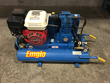 gas air compressors for rent