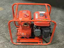 2 inch gas water pumps for rent